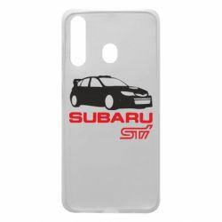Чехол для Samsung A60 Subaru STI