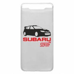 Чехол для Samsung A80 Subaru STI