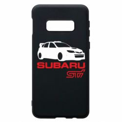 Чехол для Samsung S10e Subaru STI