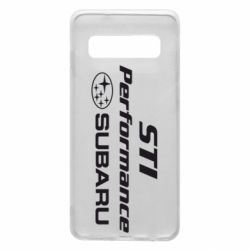 Чохол для Samsung S10 Subaru STI