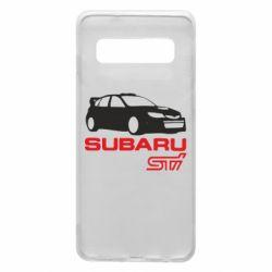 Чехол для Samsung S10 Subaru STI