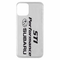 Чехол для iPhone 11 Subaru STI