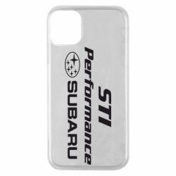 Чохол для iPhone 11 Pro Subaru STI