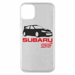 Чехол для iPhone 11 Pro Subaru STI