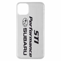 Чехол для iPhone 11 Pro Max Subaru STI