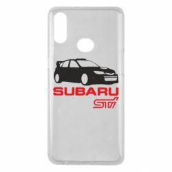 Чехол для Samsung A10s Subaru STI