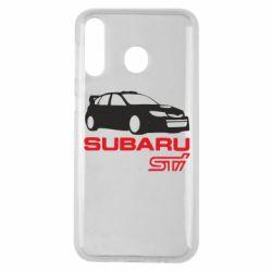 Чехол для Samsung M30 Subaru STI