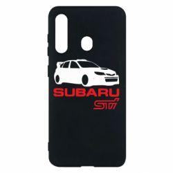 Чехол для Samsung M40 Subaru STI