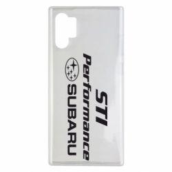 Чехол для Samsung Note 10 Plus Subaru STI