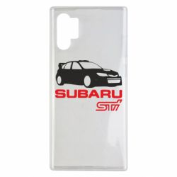 Чохол для Samsung Note 10 Plus Subaru STI