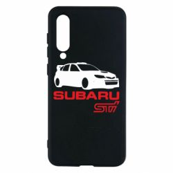 Чехол для Xiaomi Mi9 SE Subaru STI