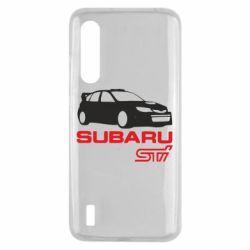 Чехол для Xiaomi Mi9 Lite Subaru STI