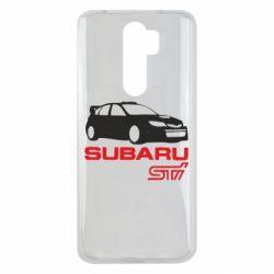 Чехол для Xiaomi Redmi Note 8 Pro Subaru STI
