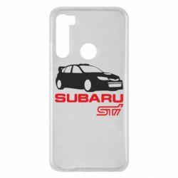 Чехол для Xiaomi Redmi Note 8 Subaru STI