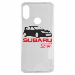 Чехол для Xiaomi Redmi Note 7 Subaru STI