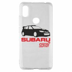 Чехол для Xiaomi Redmi S2 Subaru STI