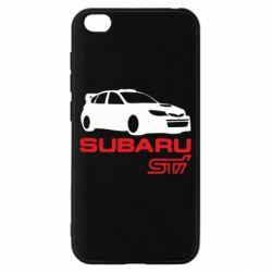 Чехол для Xiaomi Redmi Go Subaru STI