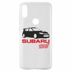 Чехол для Xiaomi Mi Play Subaru STI