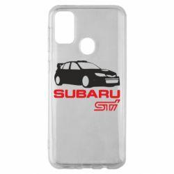 Чехол для Samsung M30s Subaru STI