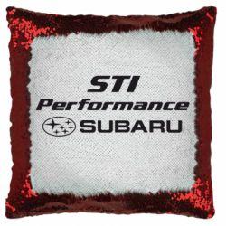 Подушка-хамелеон Subaru STI