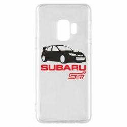 Чехол для Samsung S9 Subaru STI