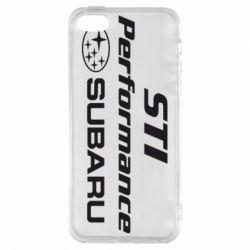 Чехол для iPhone5/5S/SE Subaru STI