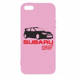 Чохол для iphone 5/5S/SE Subaru STI