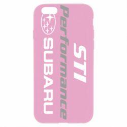 Чехол для iPhone 6 Plus/6S Plus Subaru STI