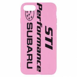 Чохол для iPhone 7 Subaru STI