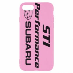 Чехол для iPhone 7 Subaru STI