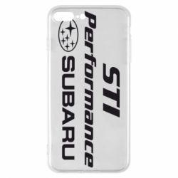 Чехол для iPhone 7 Plus Subaru STI