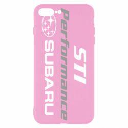 Чехол для iPhone 8 Plus Subaru STI