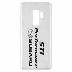 Чехол для Samsung S9+ Subaru STI