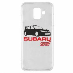 Чехол для Samsung A6 2018 Subaru STI