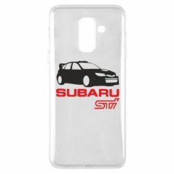 Чехол для Samsung A6+ 2018 Subaru STI
