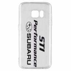 Чохол для Samsung S7 Subaru STI