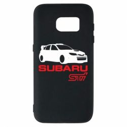 Чехол для Samsung S7 Subaru STI