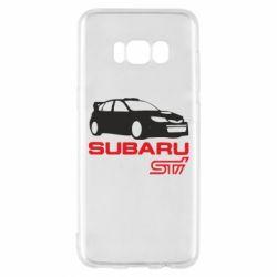Чехол для Samsung S8 Subaru STI