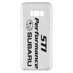 Чохол для Samsung S8+ Subaru STI