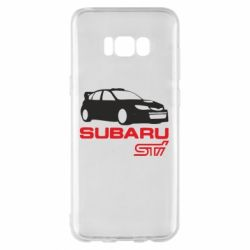 Чехол для Samsung S8+ Subaru STI
