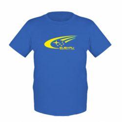 Детская футболка Subaru WRT - FatLine