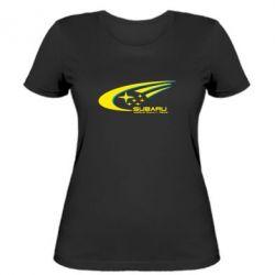 Жіноча футболка Subaru WRT - FatLine