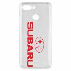 Чехол для Xiaomi Redmi 6 Subaru - FatLine