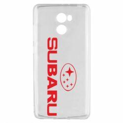 Чехол для Xiaomi Redmi 4 Subaru - FatLine
