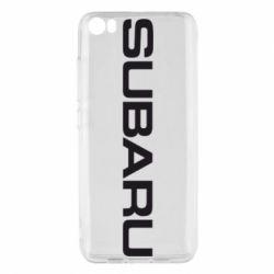 Чохол для Xiaomi Mi5/Mi5 Pro Subaru