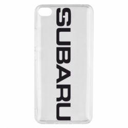 Чохол для Xiaomi Mi 5s Subaru