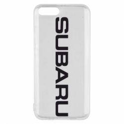 Чохол для Xiaomi Mi6 Subaru