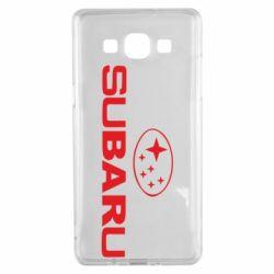Чехол для Samsung A5 2015 Subaru