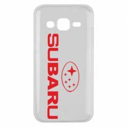 Чехол для Samsung J2 2015 Subaru - FatLine