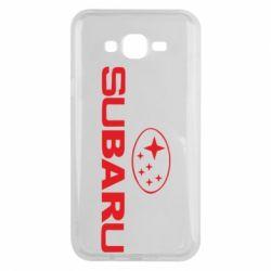 Чехол для Samsung J7 2015 Subaru - FatLine